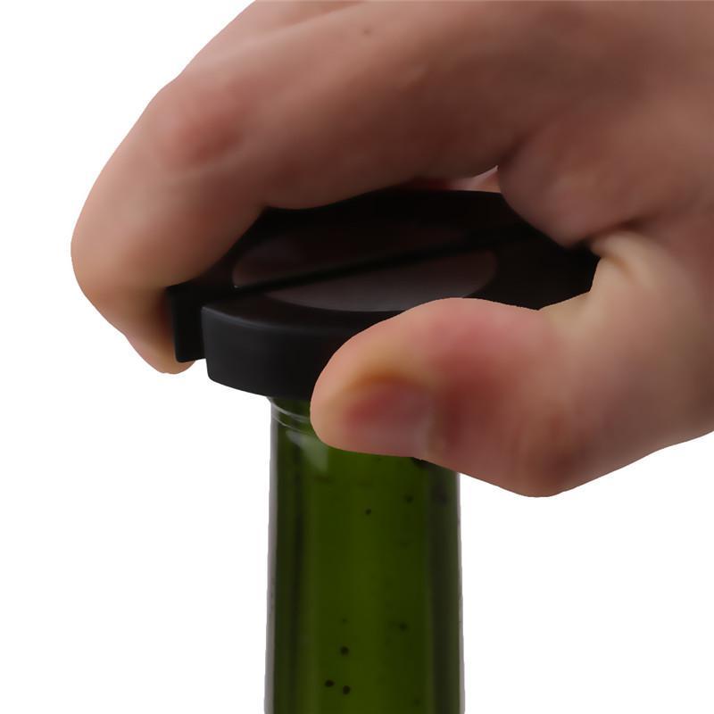 Opener Preto Hot Champagne cortador de tiras Red Wine Bottle Tinfoil Faca Vinho Tinto garrafa Tinfoil Faca Bottle Cap cortador de papel Bat