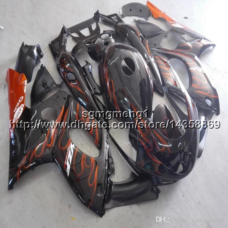 23colors + Gifts + Screws artigo de motocicleta de chamas laranja para Yamaha YZF600R 1997 1998 1999 2000 2001 2002 2003 2004 2005 2006 2007