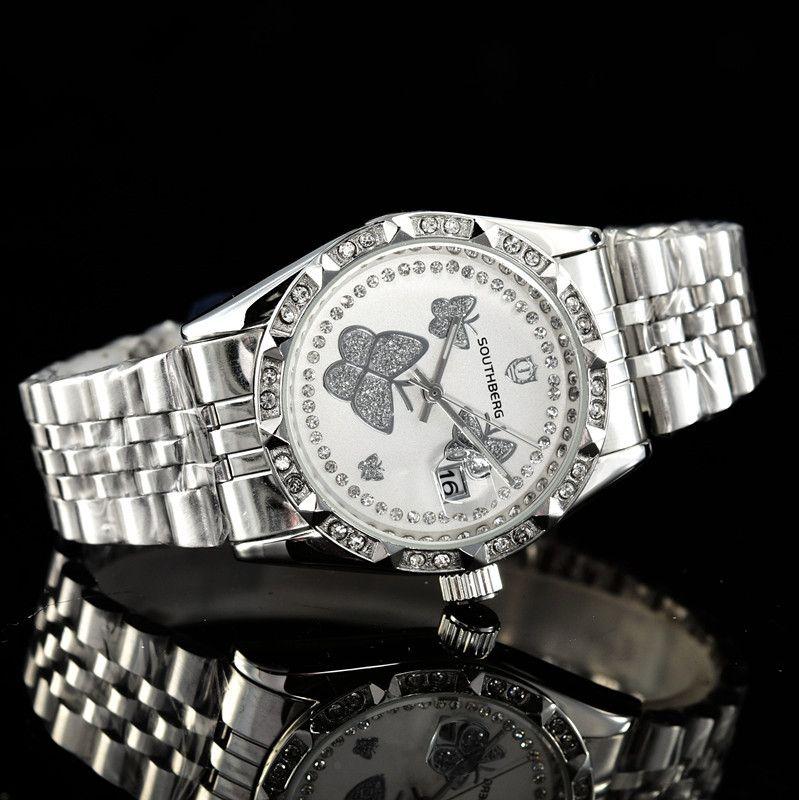 RO Top qualité Ditong verte série Ghost eau Montre Femme de luxe montre-bracelet Casual célèbre marque haut de gamme de qualité classique Quartz 30_012