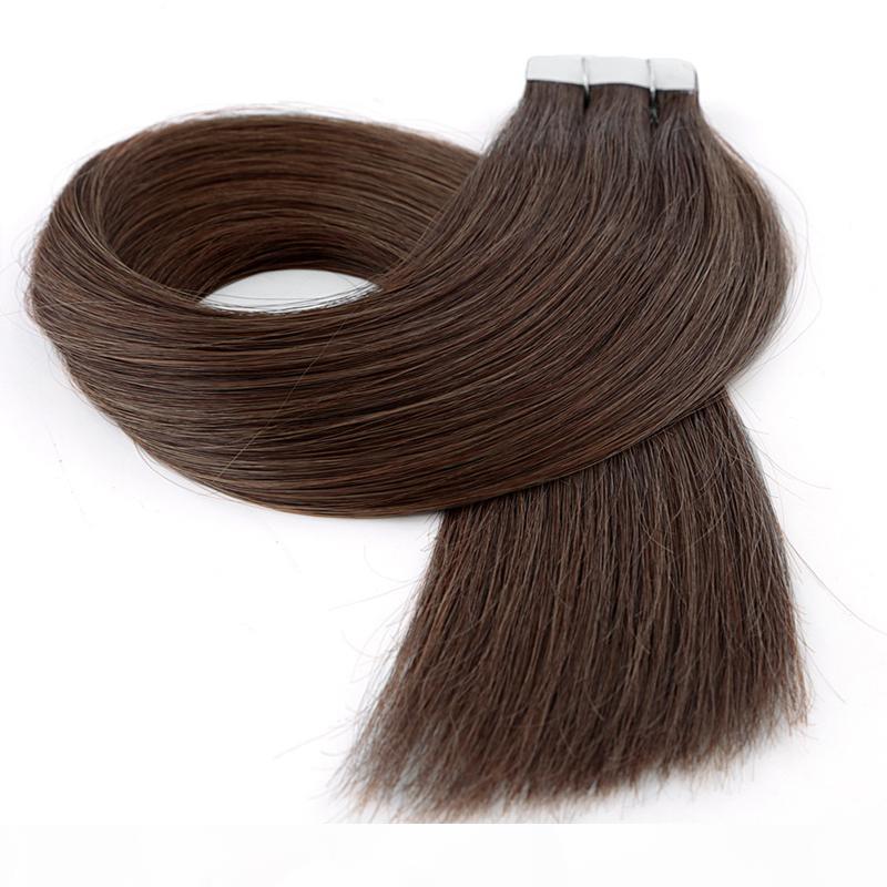 Malese nastro peruviano brasiliano Inaian Cassaforte in estensioni dei capelli umani 100g 40pcs Mac Makeup Extensions de cheveux Dhgate