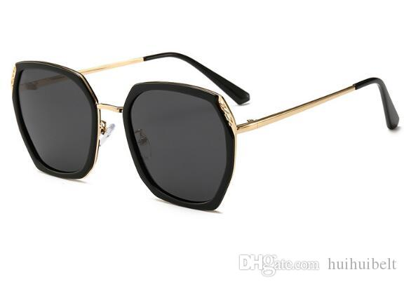 2019 nuova versione coreana di occhiali da sole polarizzati occhiali maglia resistenti ai raggi UV tendenza femminile specchio ombrellone uomini all'ingrosso 22023