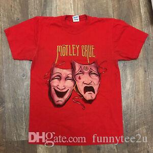 Vtg Motley Crue Theatre Pain Concert Tour Shirt 1985 Reprint