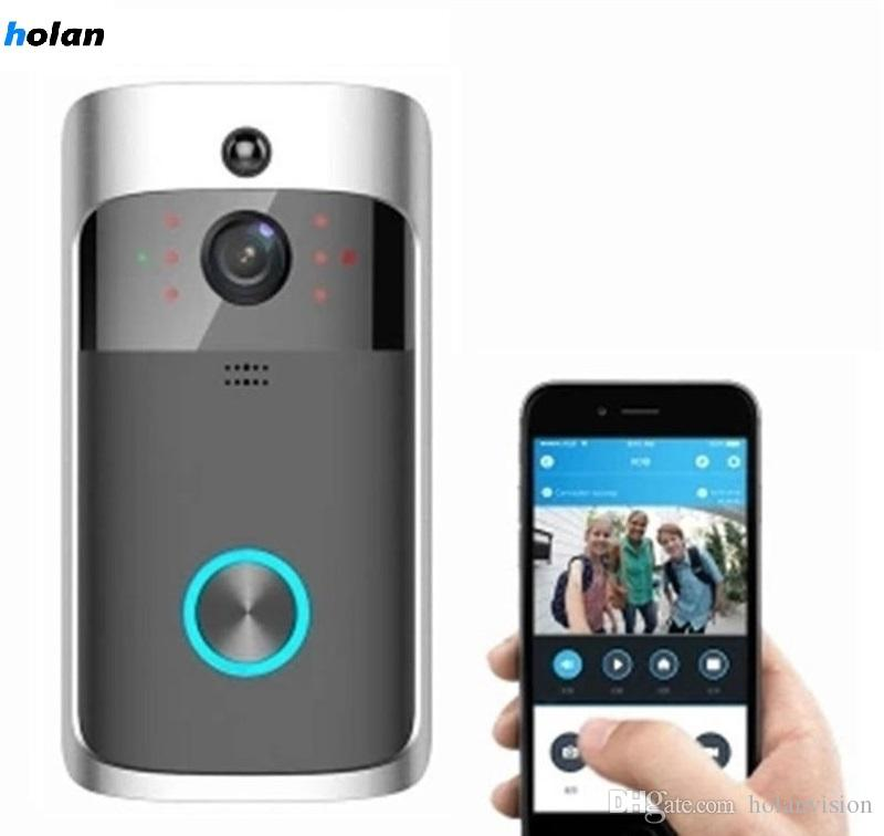 Holanvision Hot Wireless Doorbell Smart Security Doorbell Video HD Video Camera Two-Way Audio Wide Angle Lens Night Vision