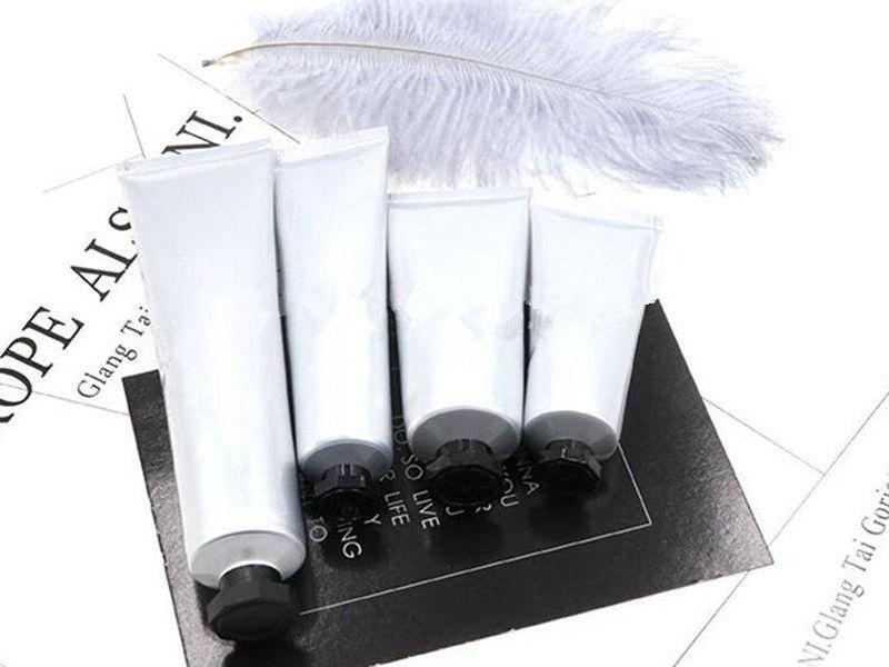 Tuyau en plastique en aluminium de tuyau de crème à la main vide, bouteilles d'emballage cosmétique de bricolage, conteneur souple de la crème BB de qualité supérieure