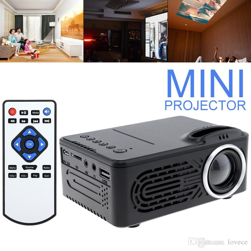 HD 1080p Support Up to 80/'/' inch Display Digital Multimedia Projector