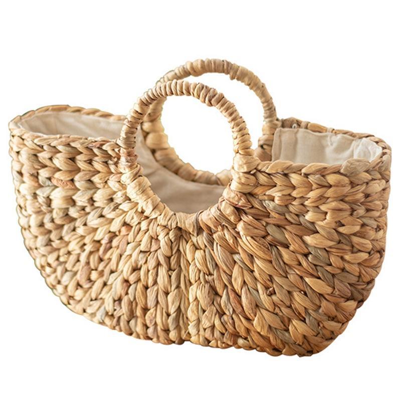 Женщины Мода соломы сумка сумка на ремне Магазины Пляж проходимостью тела Satchel