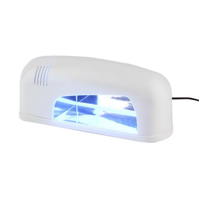 Bianco acrilico di essiccamento della luce di polimerizzazione del gel uv della metropolitana della lampada dell'essiccatore del polacco di arte del chiodo di 9Watt