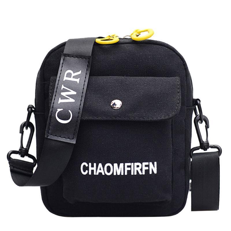 Женщины холст одно плечо курьерская сумка курьерская сумка небольшой квадратный холст les sacs des femmes #15