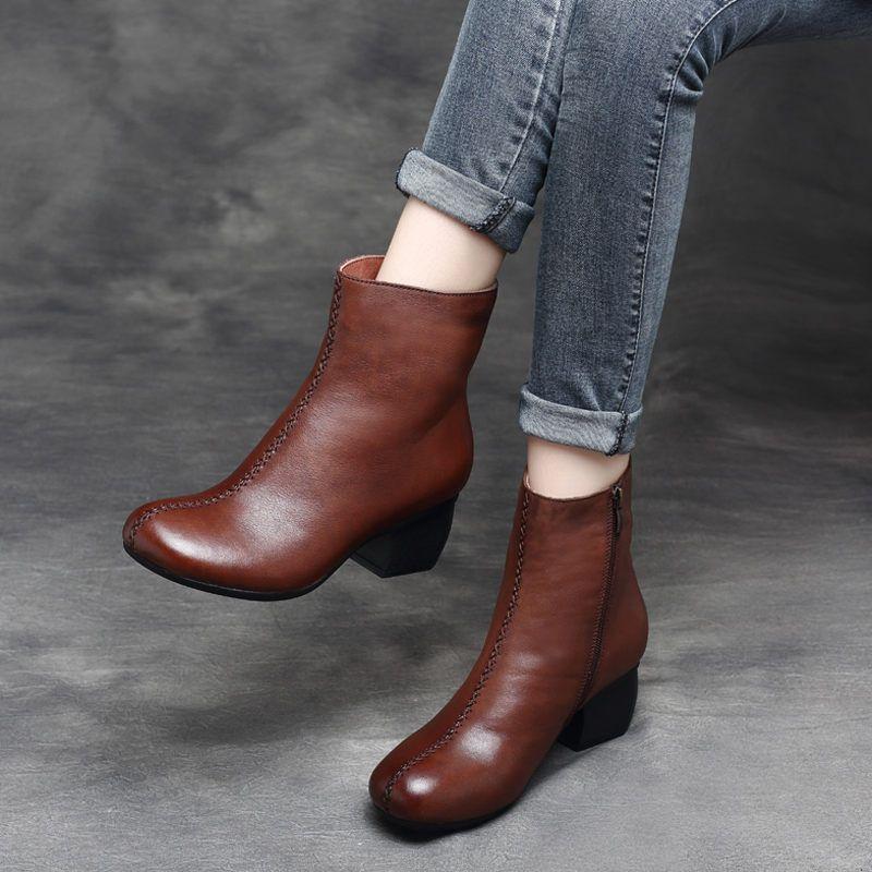 LEI14 Ince Çizmeler Womans Zarif Yaz Cut-Çıkışları Hollow Düz Moccasins Nefes Moda Rahat Bayanlar Anne Ayakkabı Boot