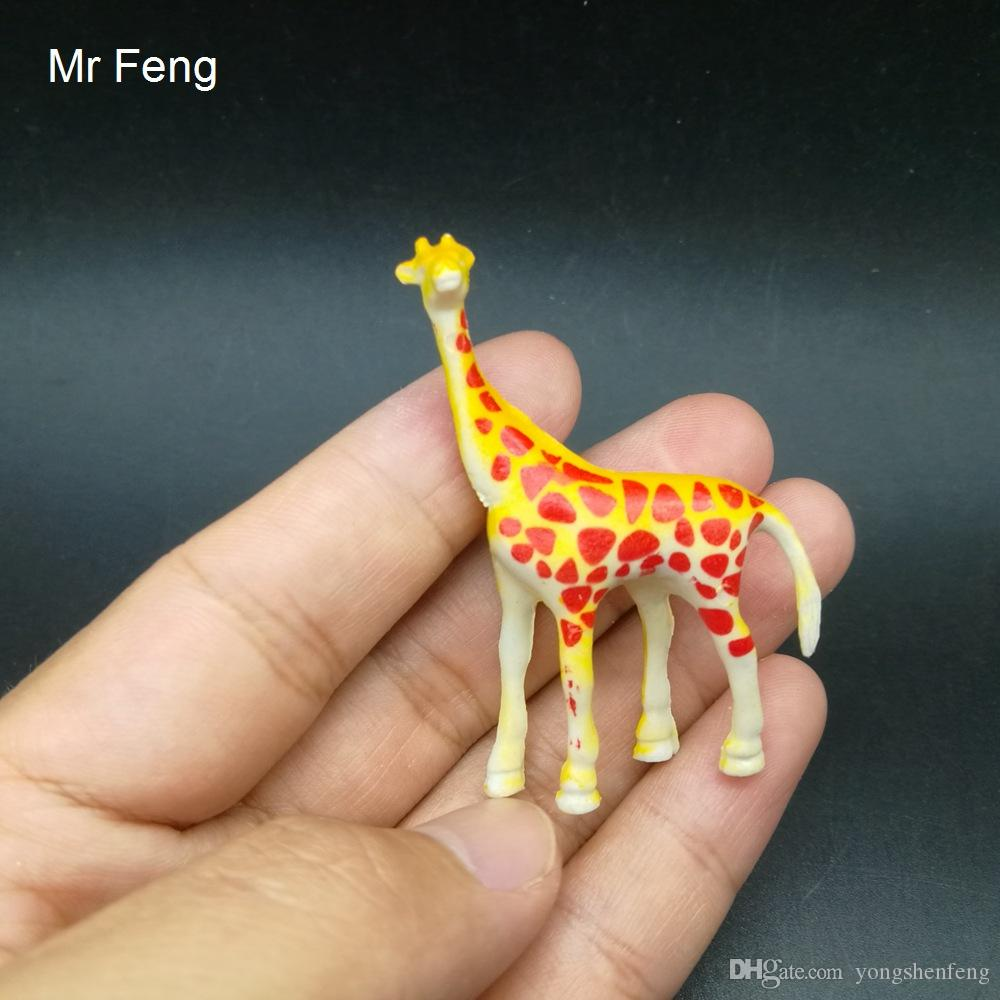 Divertente Scienza Educativa Simulato Modello di Giraffa Giocattolo Prop insegnamento Educativo Giocattolo artigianale (Modello numero I769)