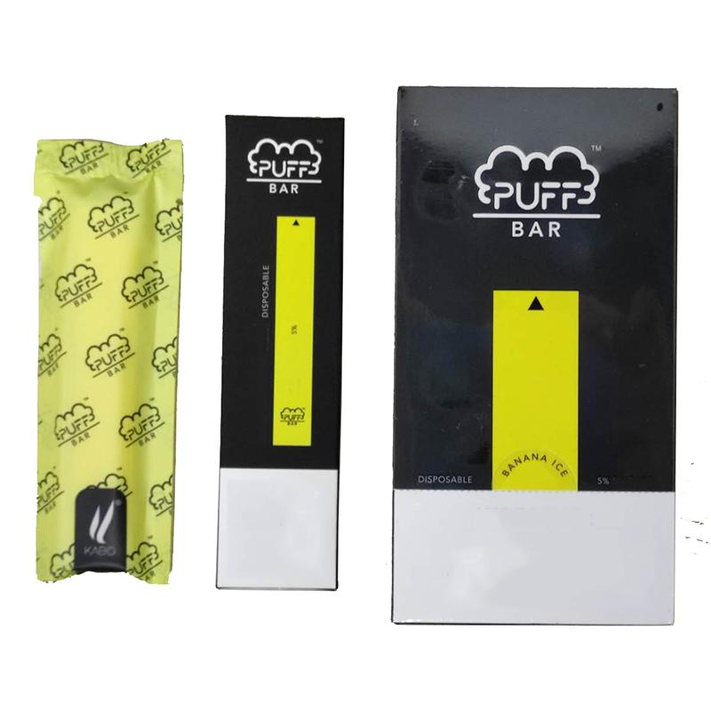 New Package Puff Bar Disposable Vape Stick Capacity 1.3ml Pod Cartridge 280mah Battery Puff Bars Device Kit Disposables Newest Packing