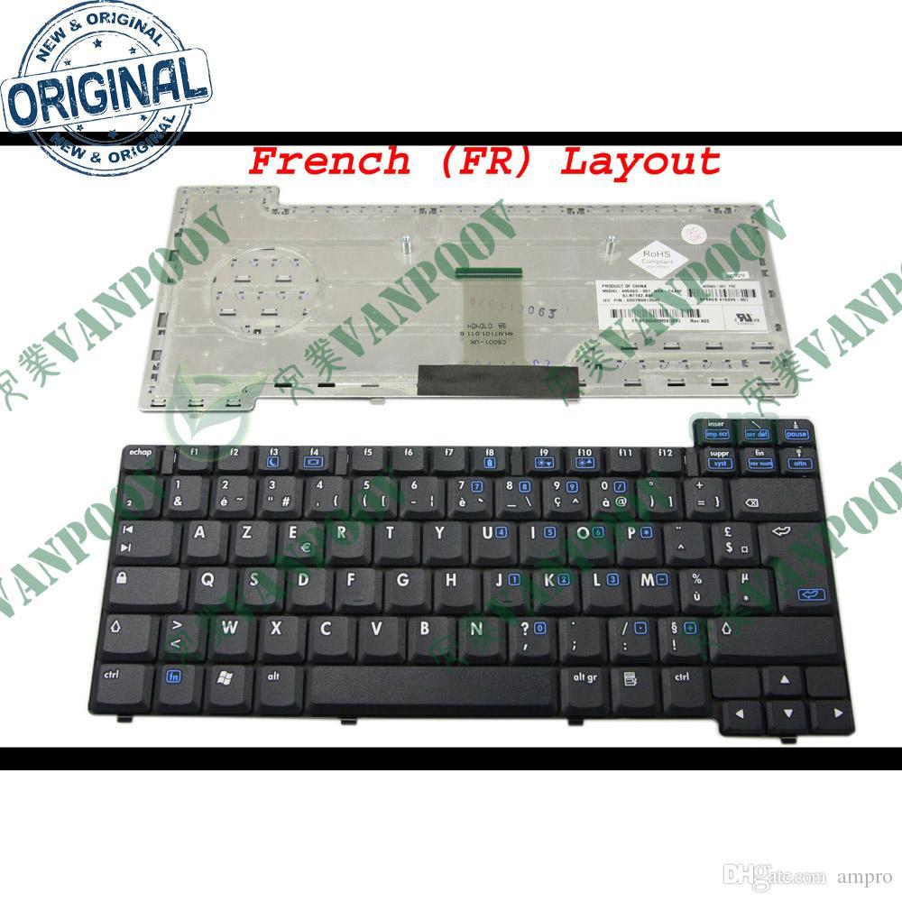 New Laptop keyboard for HP Compaq nc6110 nc6120 nx6110 nx6120 Black French FR AZERTY Clavier - NSK- C6A0F