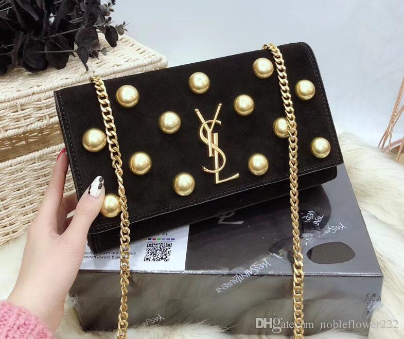 61 YSL Women S Genuine Leather Chain Bag Handbag Shoulder Bag Envelope Bag  Crossbody Bags Shopping Messenger Bags Evening Clutch Bags Cool Hair  Accessories ... 0a3466cc813b4