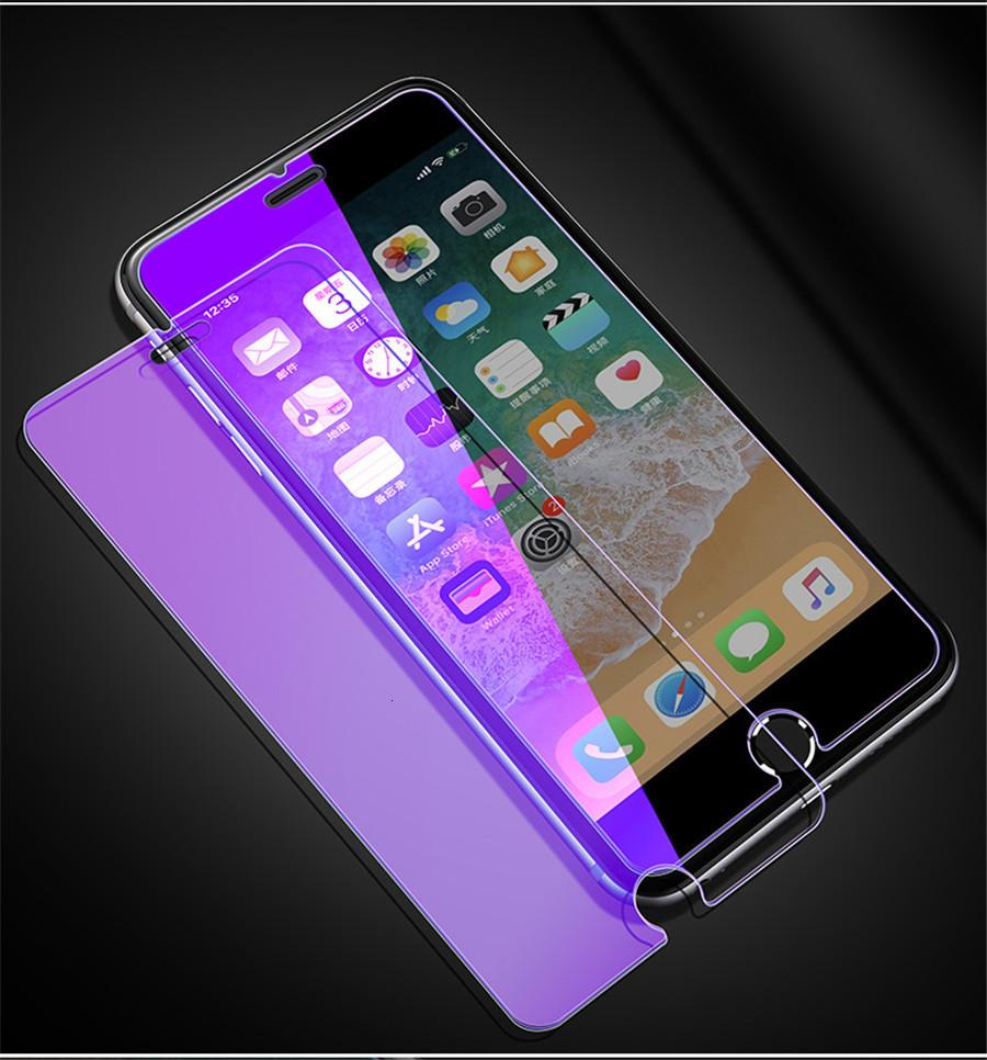 Full Front Blue light resistant film Tempered Glass Screen Protector Film For iPhone 11 11pro 11pro Max X Xr Xs Xs Max 8 7 6 5 In Stock