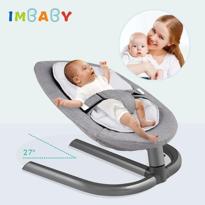 IMBaby Baby Rocking Silla Baby Swing Crading Silla mecedora para recién nacidos Swing Lindo Cuna