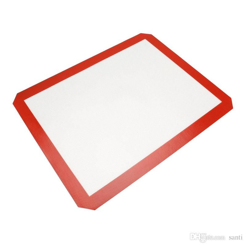 3 Size Food Grade Non-stick Silicone Fiberglass Baking Mat Kitchen Tools Baking Tools for Cake Cookie Macaron