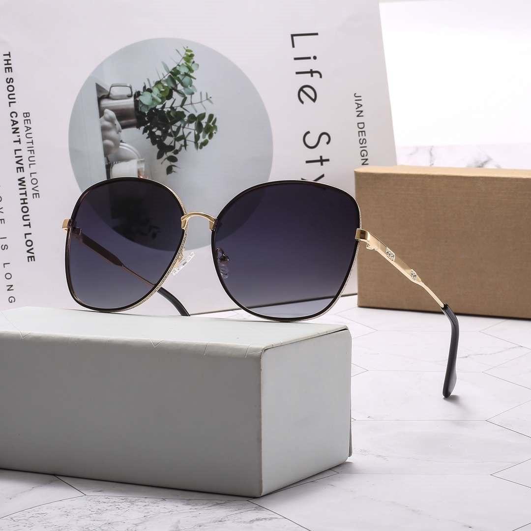 إمرأة نظارات شمس الصيف النظارات الشمسية ساخنة المرأة للجنسين حملق نظارات UV400 D1O رسائل 8021 4 اللون ذات جودة عالية مع صندوق