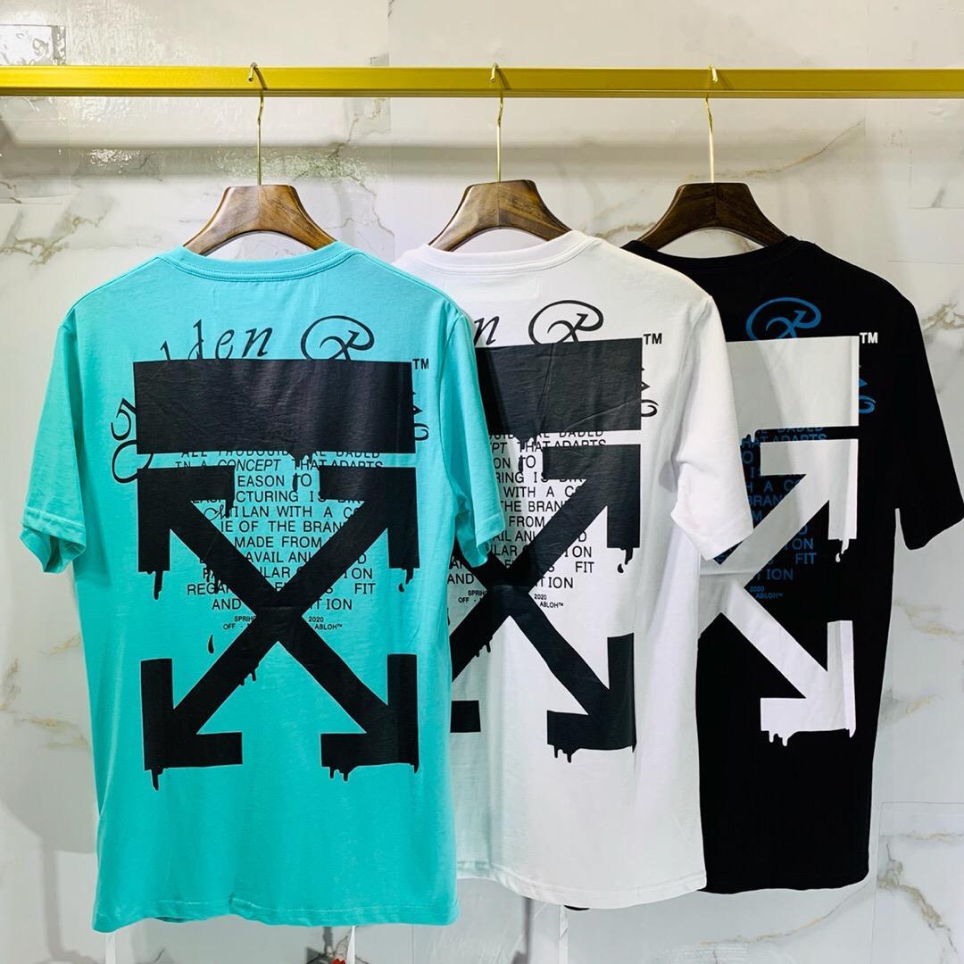 2020 Herren T-Shirt Männer-Frauen-Qualität mit kurzen Ärmeln Fashion Boy London Männer Bruch des Schreibens Printing T 000