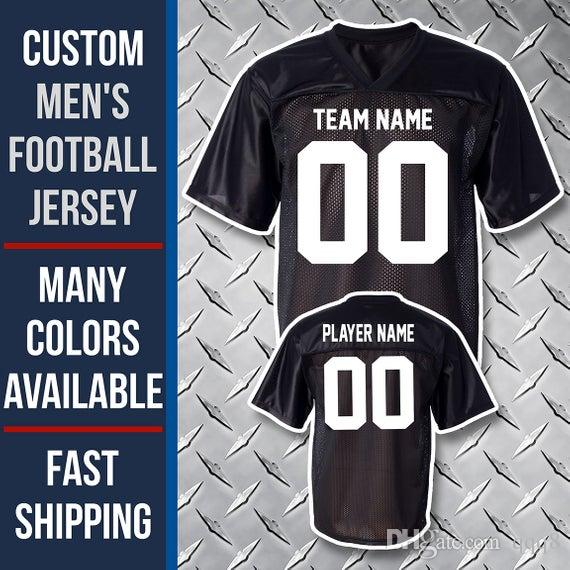 Top Quality ! Custom American Football Jersey 32 Team Men Women Youth Personalized College Jerseys 100% Stitched Name Number