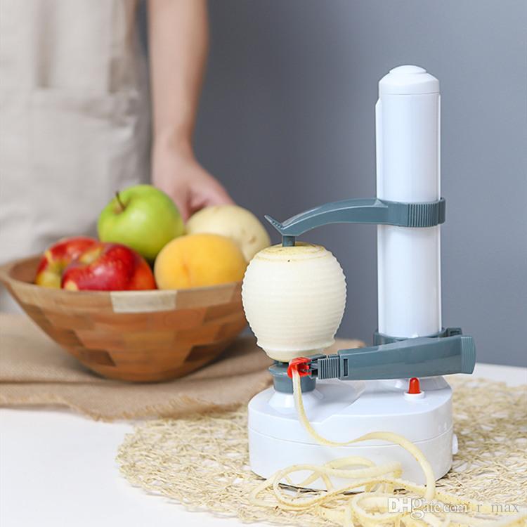 mini-automáticas maçã descascador Mango descamação máquina elétrica uso doméstico manga descascador de frutas máquina de batata doce utensílios de cozinha kiwis descascador