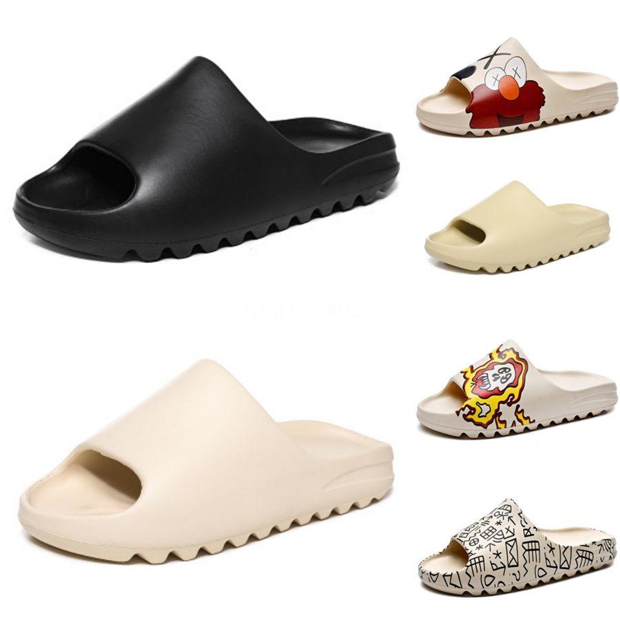 Бисером сандалии Женская обувь Резинка Плоский Женщины горкой лето 2020 Мода Слайды для девочек Обувь # 816