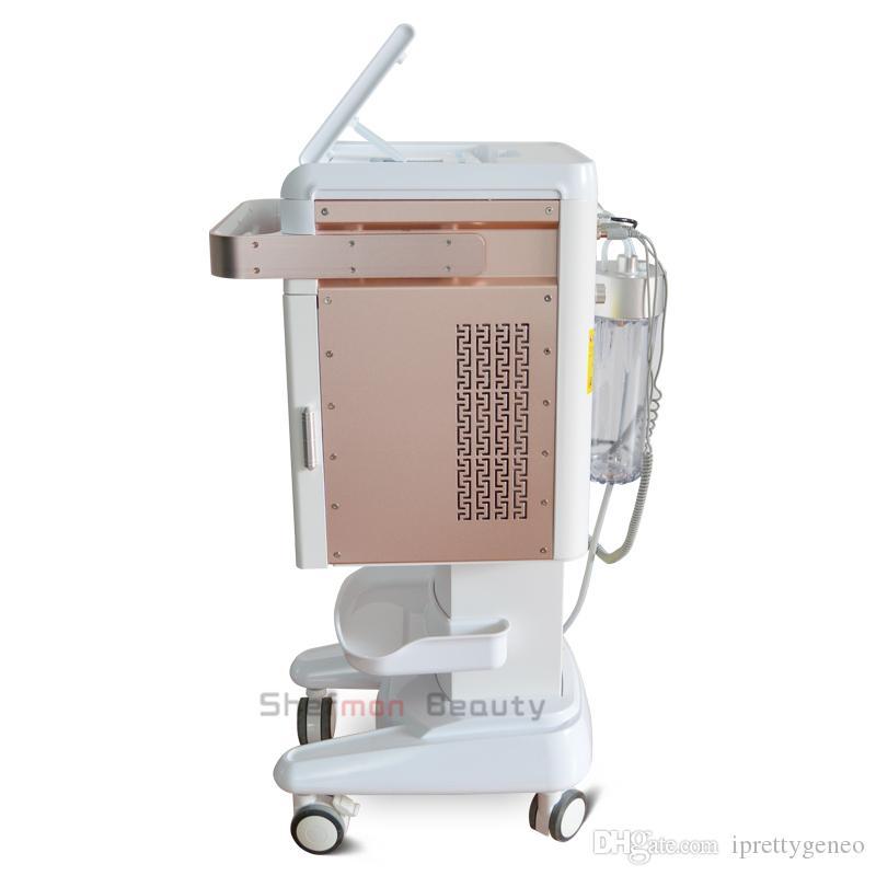5 1 Hydrafacial Dermabrazyon Makinesi Su Oksijen Jet Peel Hydra Cilt Scrubber Yüz Güzellik Derin Temizleyici RF Yüz Germe Soğuk Hammer içinde