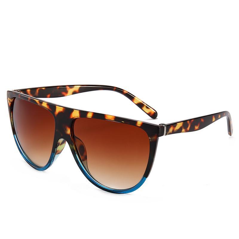 2020 النظارات الشمسية الفاخرة للرجال والنساء عدسات ضخمة الزجاج الشمس حافة رجل الإطار الكامل البيضاوي خمر حملق نظارات مستديرة
