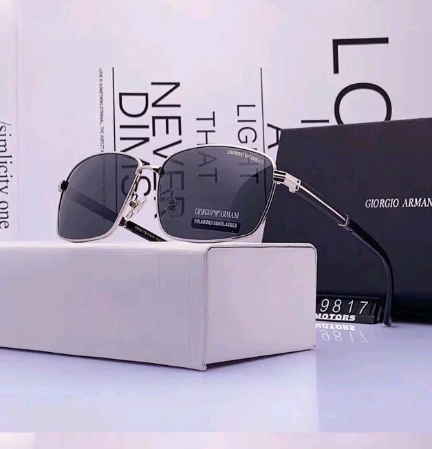 Qualitäts-Marken-Desig Sonnegläser Goldrahmen Spiegel Sonnenbrille Brille Mode Frauen Sonnenbrillen UV-Männer Sonnenbrille Pilot klassische Sonne