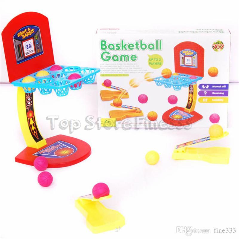 Çocuk oyuncakları Mini Basketbol Oyuncak basketbol standı kapalı açık ebeveyn-Çocuk Aile Eğlenceli Masa Oyunu Oyuncak Basketbol Çekim Oyunları