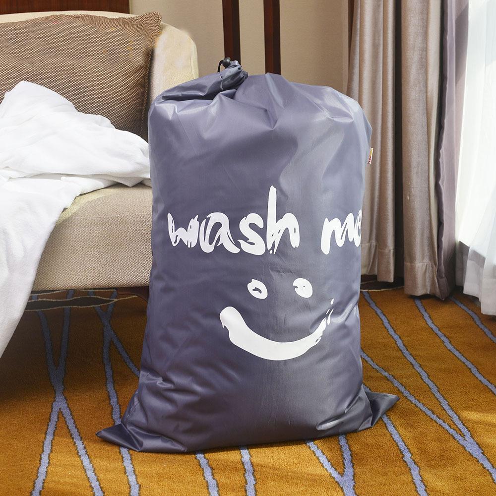 lavado SONRISA CALIENTE me cesta de lavadero plegable del baño sucio Cesto con cordón de almacenamiento Bolsas Baño perchero Organizador T200624