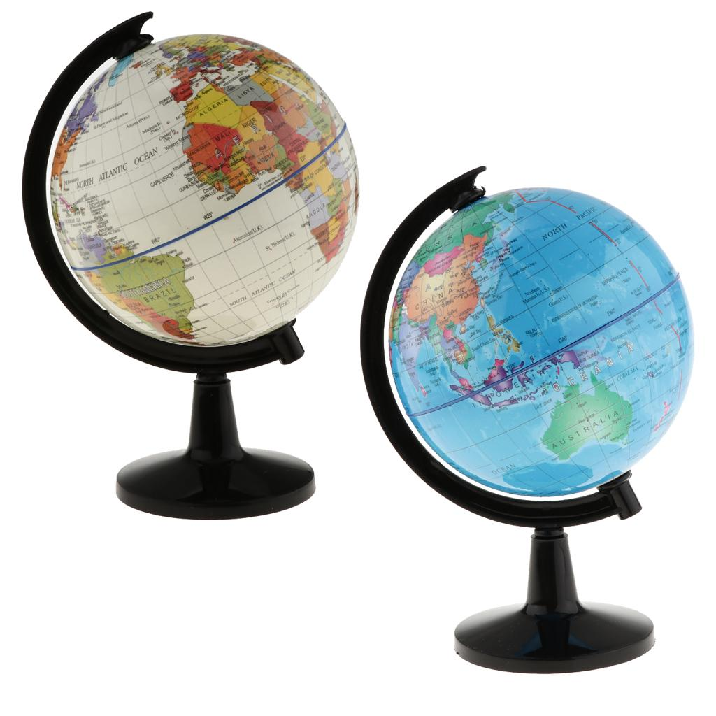 Welt klassische Globus mit Basiswelt Entdeckung pädagogischer Geschenk Tischdekoration