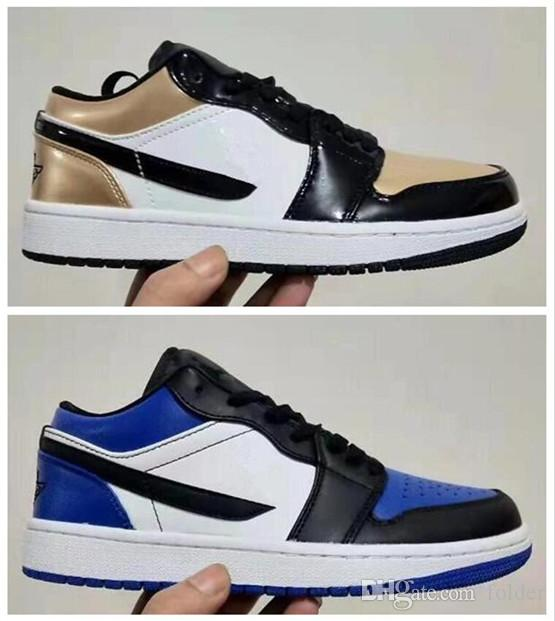 2018 0 AJ 1 1S J1 SB x Air RET PREM LOW Jumpman Top qualité Hommes Sports Basketball Chaussures Chaussures Hommes Chaussures
