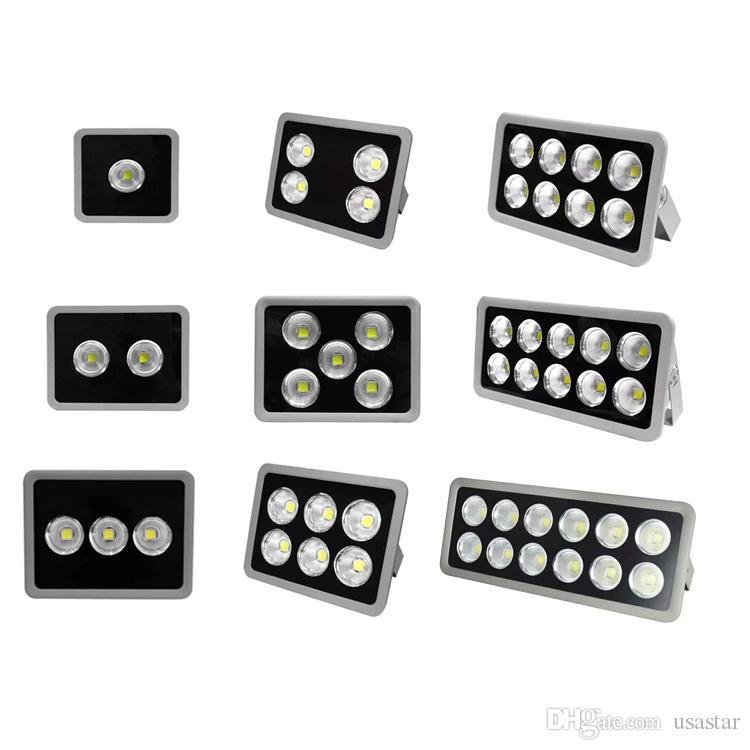 AC85-265V LED-Scheinwerfer IP66 imprägniern 50W 100W 150W 200W 250W 300W 400W 500W 600W für Außenwandleuchte