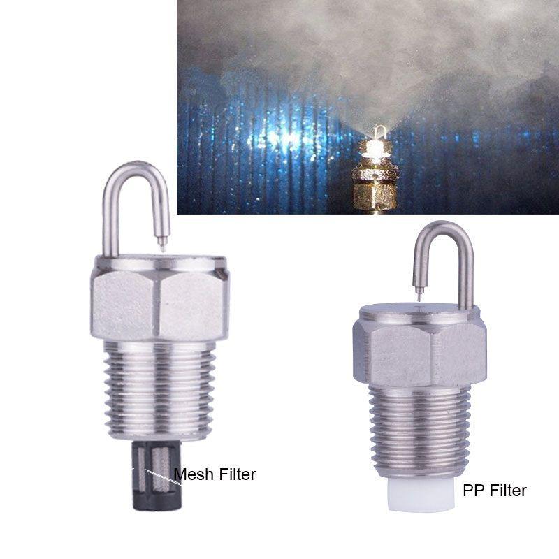 "1/8"" Ruby fog nozzle,Garden Ruby impact Pin misting nozzle,high pressure orifice water mist nozzle sprayer"