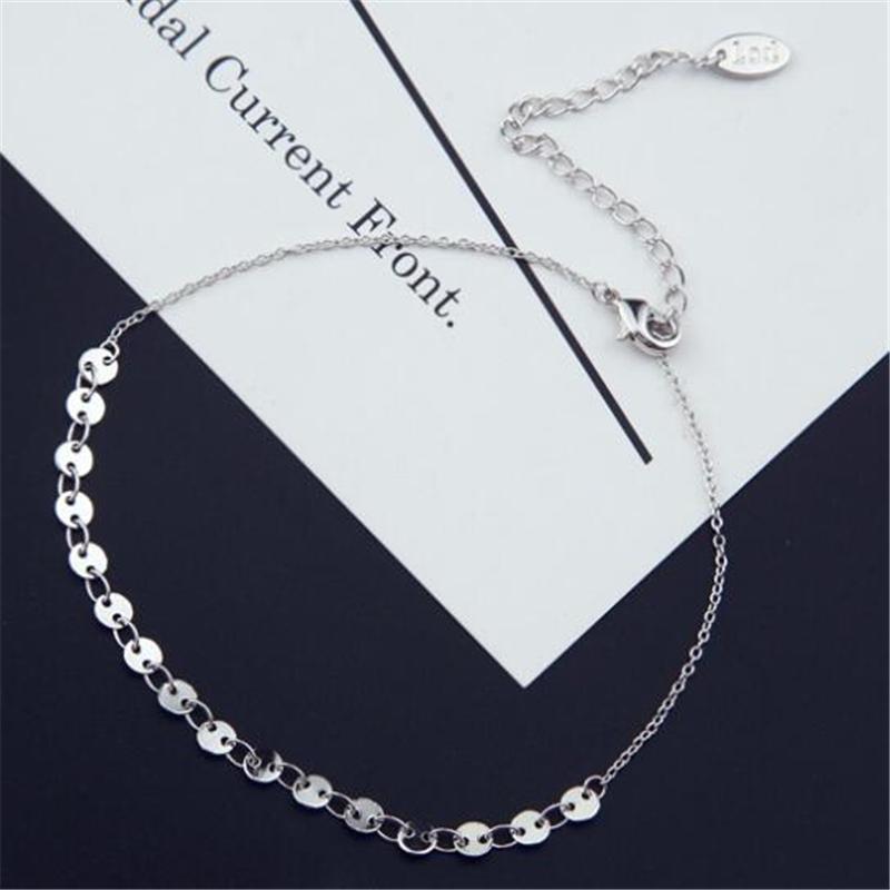 2020 bijoux bracelet de cheville simple, à la mode rose sexy or de style européen femmes bijoux sequin cadeau anklet fête de Noël anklet