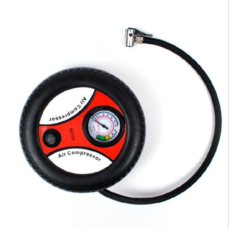 Car insurance gift tire air pump 12V mini air pump car electric