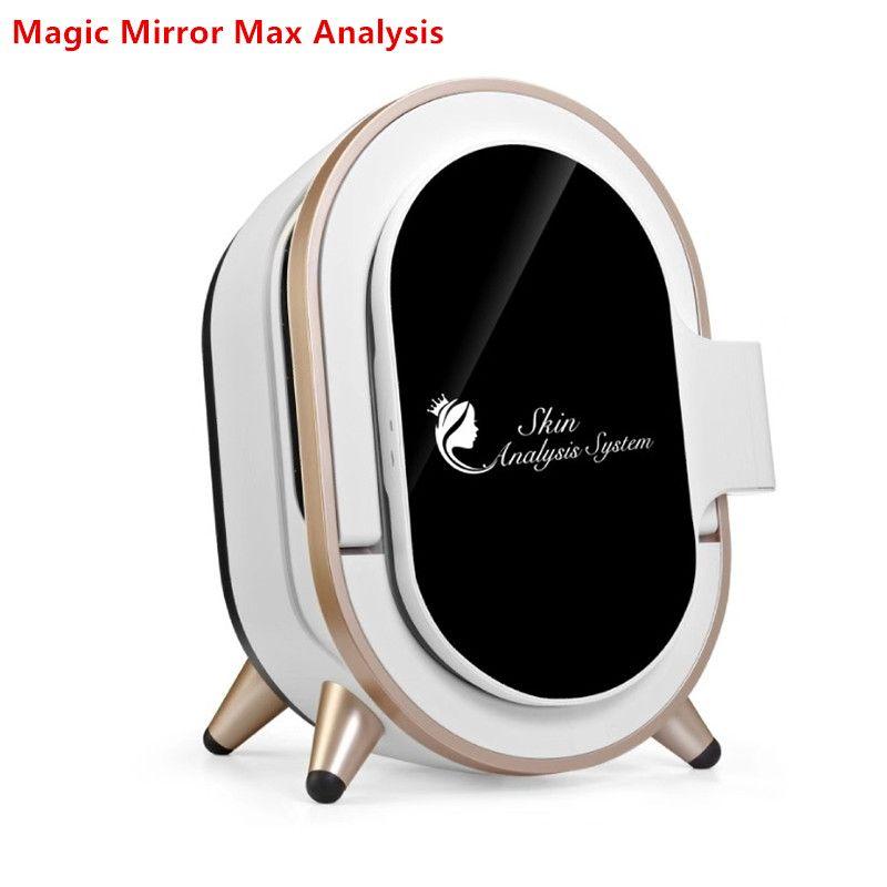 ارتفاع تقنية 3D ماجيك تحليل مرآة الجلد نظام اختبار 12 كشف المؤشر 20 مليون بكسل آلة محلل الجلد المحمولة