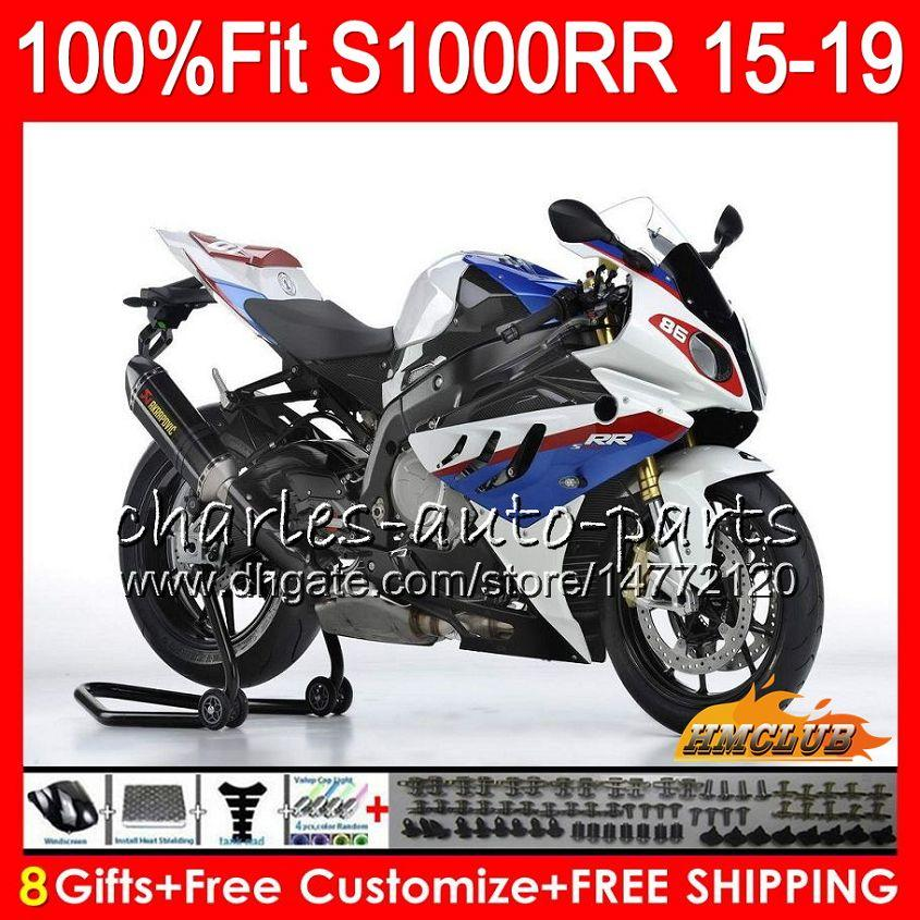 Set S1000 RR 3 Adh/ésifs 3d Protections Compatible Moto BMW S1000rr 2015-2017
