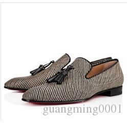 Paris Marka Gentleman Düğün Elbise Moda Erkekler Kırmızı Alt loafer'lar Dandylove Oxford Ayakkabı Adam Rahat Yumuşak Ayakkabı k0113 Walking