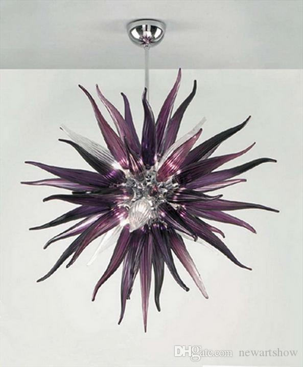 Лампы для дома Pretty Balls Shape 100% Выдуваемые из рта боросиликатные светильники Chihully Style Выдувные люстры из муранского стекла