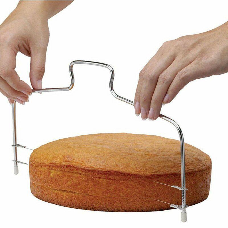 Levigatrice della torta che decora l'attrezzo del decoratore di taglio dell'affettatrice del cavo del pane