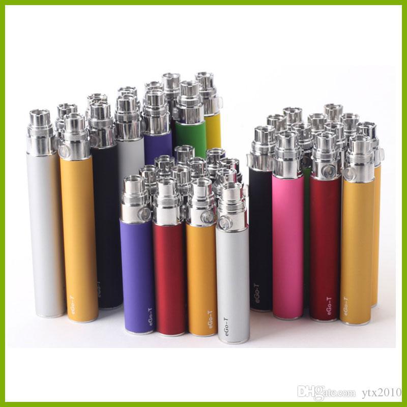 電子タバコのための電子タバコのための電子Tバッテリー510スレッドCE4 CE5 MT3 H2ブリスターケースまたはジッパーキットのためのE-Cig 650mAh 900mAh 1100mah
