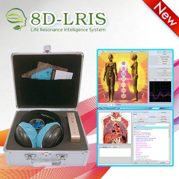 على أحدث طراز بالرنين الحيوي NLS آلة جبلة 8D-LRIS الجسم آلة ماسحة - هالة شقرا شفاء شحن مجاني