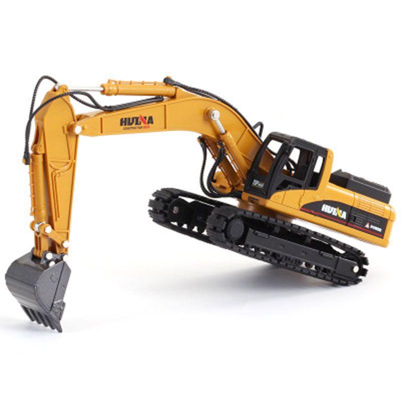 01:50 Alaşım Mekanik Yükleyici İş Makinesi Alaşım Ekskavatör Modeli Döküm Boys Oyuncak Kamyon Hediyeleri Çocuk Oyuncak
