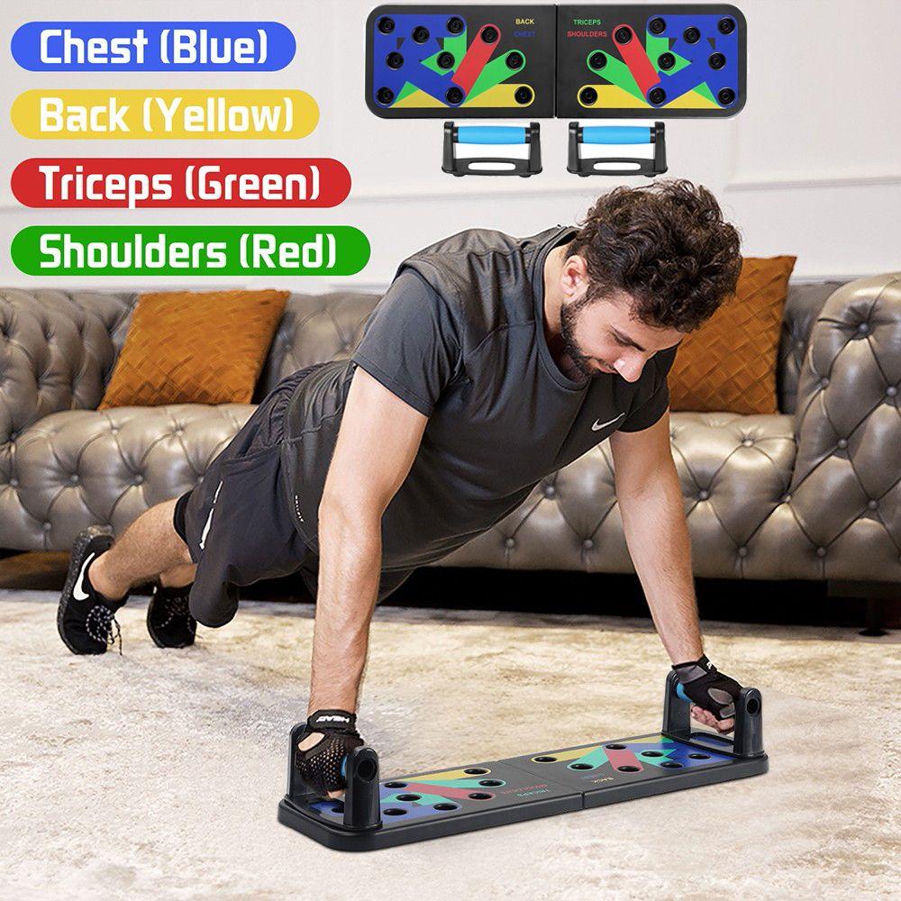 Dobrável Multifuncional Musculação Empurrar Y200506 Up Board Home Gym Academia Sport Equipment Abdominal Placa Muscle