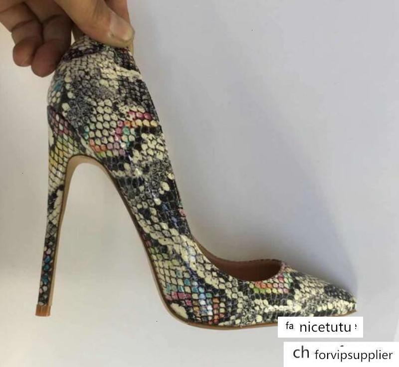 120 Yılan Baskı seksi bayanlar yılan derisi pompaları yüksek topuklu Python Pigalle alışveriş yüksek topuklu pompalar moda kadınlar ayakkabı elbise