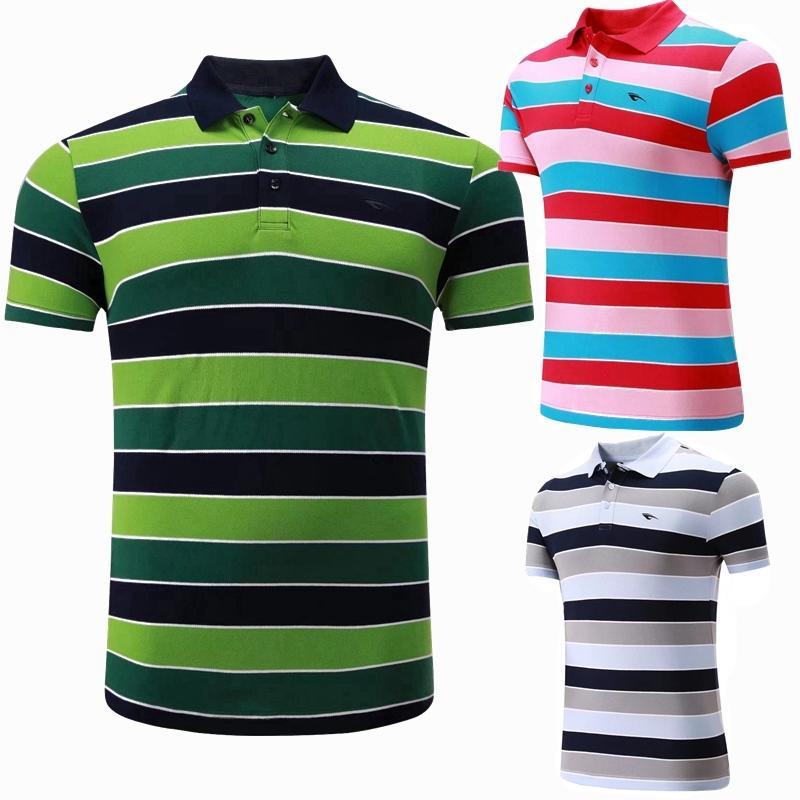 Sportswear Quick Dry breathable badminton shirt jersey,Women/Men table tennis shirt game golf POLO stripe 100% Cotton Shirts C18112001
