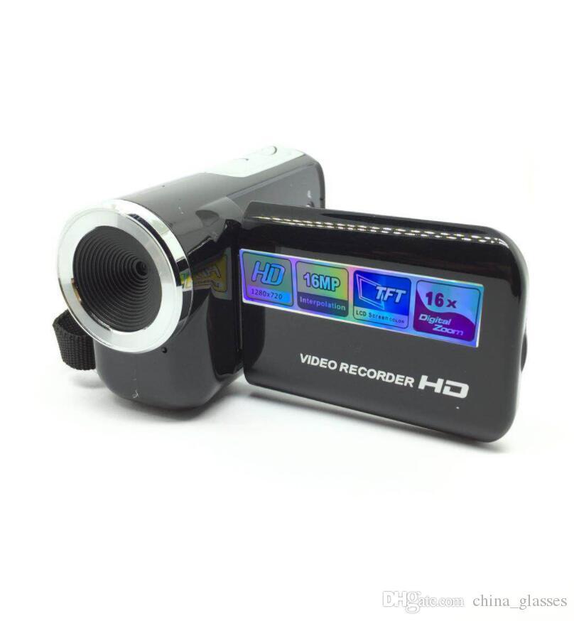 1PCS 2020 كاميرا HD الرئيسية DV168 الرقمية 16 مليون بكسل هدية كاميرا الموقت الذاتي 2.0 بوصة TFT العرض الأساسية السفر