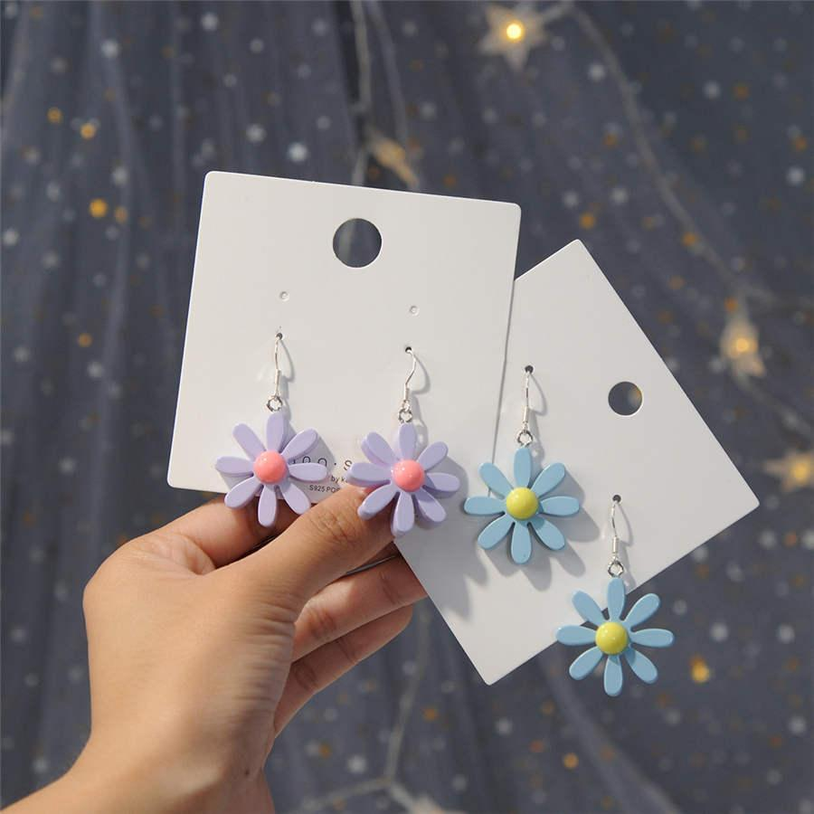925 Silver Pin Earrings INS Nordic Simple Style Earrings Ms. Earrings Cute Earring Wholesale Free Shipping