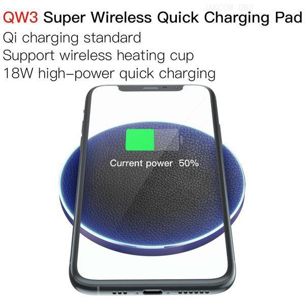 JAKCOM QW3 Super Wireless Quick Charging Pad New Cell Phone Chargers as jewelry soccer jersy set phones